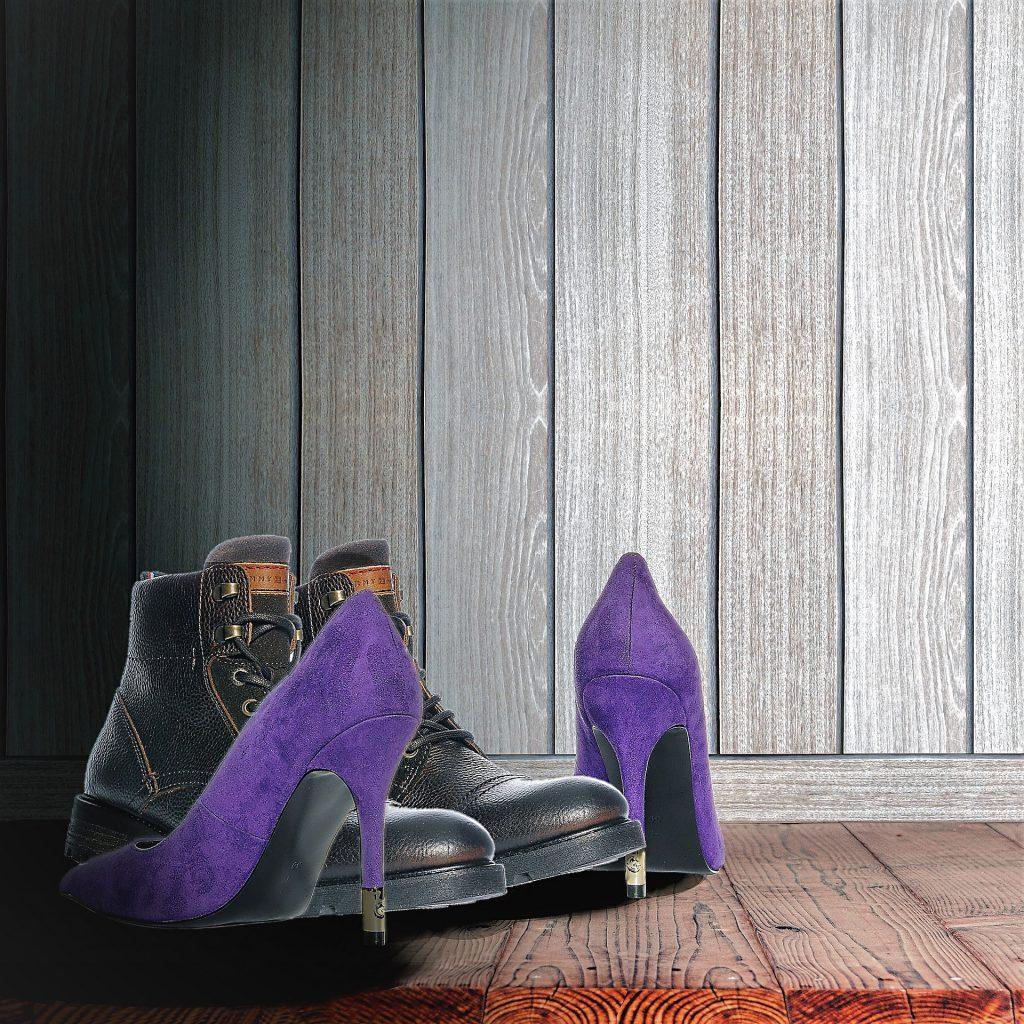 שמירה על נעלי זמש